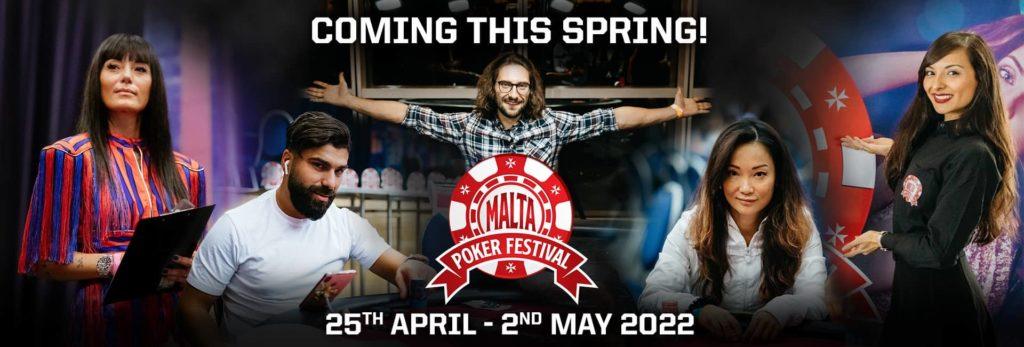 The Malta Poker Festival Hero image